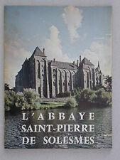 Abbaye Saint Pierre de Solesmes Monastère - Imprimerie Coconnier 1969