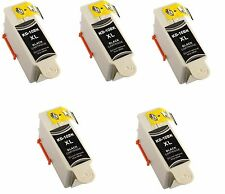 5 Kodak 10 Black XL Ink Cartridge for 10XL Printers ESP 3250 5250 6150 7250 Hero