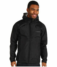 NWT Mens  Black PATAGONIA Torrentshell Waterproof Rain Jacket hood Size X-Large