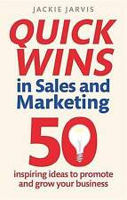 New book - Quick Wins in Sales & Marketing: 50 inspiring ideas by Jackie Jarvis