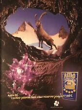 PUBLICITÉ 1998 ASTRO CAPRICORNE FRANÇAISE DES JEUX - ADVERTISING