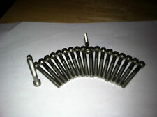 10-32 Stainless Steel allen head bolts 1.667 O.A.L.1.454 under head 20 pc lots