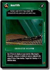 Star Wars CCG BB Premiere Limited Assault Rifle