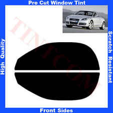 Pre Cut Window Tint Audi TT-Cabriolet  2007-2010 Front Sides Any Shade