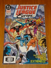 JUSTICE LEAGUE EUROPE #15 VOL 1 DC COMIC JLA JUNE 1990