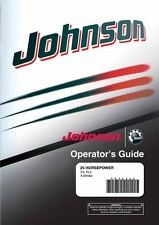 Johnson Outboard Owners Manual 2006 4-Stroke / 25 HP / Model E4 & EL4