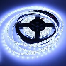 5M 5050 Cool White SMD Waterproof Flexible LED Strip Light Tape Roll 300Leds 12V