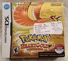 Pokemon: HeartGold Version (Nintendo DS, 2010) Complete in Box w/ Pokewalker