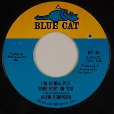 ALVIN ROBINSON: How Can I Get Over You  BLUE CAT Soul Funk '65 NM- 45