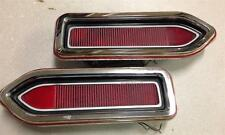 1970 PLYMOUTH BELVEDERE SATELITE - TAILLIGHT HOUSING AND LENSES RIGHT & LEFT