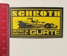 Aufkleber/Sticker: Schroth - Renn- & Rallye-Gurte (21041661)
