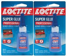 2 New! 20g LOCTITE LIQUID PROFESSIONAL Strong Super Glue Clear Adhesive 1365882