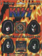 KISS 7 rockin magnets COLLECTABLE MINI MAGNET SET official IMPORT