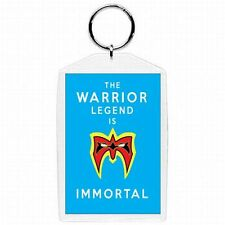 WWE WWF Wrestler Ultimate Warrior Collectible Glass Keychain #3