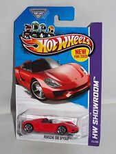 Hot Wheels New For 2013 HW Showroom Asphalt Assault #175 Porsche 918 Spyder Red