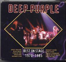 DEEP PURPLE - Best on stage 1970 - 1985 - BOX 3 CD 1994 OTTIME CONDIZIONI (D2)
