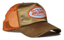 De van Dutch Mesh Trucker base cap [metalizado oro/Orange] tapa gorra SnapBack