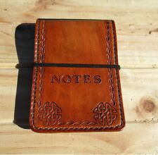 Custom Leather Notebook  book Cover Hand Made. Notepad