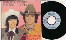 """MIREILLE MATHIEU PATRICK DUFFY 45 TOURS 7"""" SACEM TOGETHER WE'RE STRONG"""