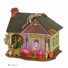 Dept 56 Snow Village Halloween 4056702 The Skeleton House 2017
