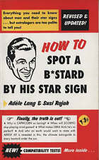 How to Spot a Bastard by His Star Sign by Susi Rajah, Adele Lang (Paperback, 200