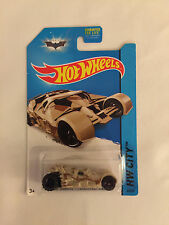 Dark Knight: THE TUMBLER Camouflage -2013 Hot Wheels Die Cast Car - Mint on Card