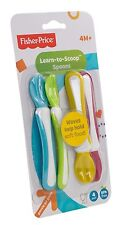 Fisher PRICE IMPARA A Scoop prima alimentazione Spoon BABY 4PZ Pack libero 3034 trendy