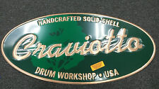 Craviotto Drum Dealer Display Metal Sign