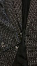 Gianni Versace Versus authentic two button grey wool/cashmere jacket