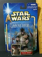 "Star Wars 3.75"" DEXTER JETTSTER MOC Coruscant Informant Attack Of The Clones MIP"