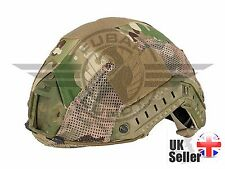 Airsoft emerson ops core fast pj type base jump helmet cover multicam, psg