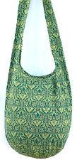 SAC BANDOULIÈRE ETHNIQUE SAC A MAIN Coton Besace ETHNIK BAG VERT GREEN