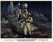 FIRST MEN IN THE MOON 1964 H. G. WELLS 1964 VINTAGE LOBBY CARD #2 SCI-FI
