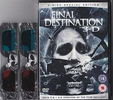 FINAL DESTINATION 4 IN 3D DVD INCLUDES PAPER 3D GLASSES