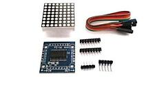 MAX7219 Dot Matrix Led Module Display Board with wires for Arduino