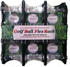 24 Golf Ball Display Made in USA Shelf Case