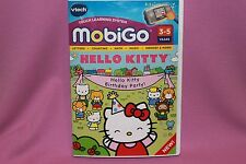 Hello Kitty Birthday Party for VTech MobiGo Learning Game  ( NEW SEALED )