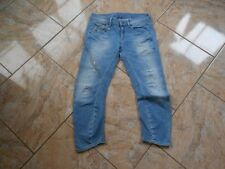 H3894 G-Star ARC  3D Kate Tapered WMN Jeans W26 Hellblau  Gut