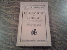 le romantisme et la morale - ernest seilliere (1932)