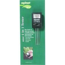 4 in 1 Mini Ph Plant Moisture Soil Tester Test Fertility Alkalinity Acidity 1818