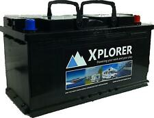 12V Xplorer 100 AH AGM Leisure Battery UItra Deep Cycle. 5 Year Warranty