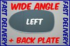 BMW 5 E39 M5 1997 - 2003 WING MIRROR GLASS BLUE WIDE ANGLE LEFT + BACKING PLATE
