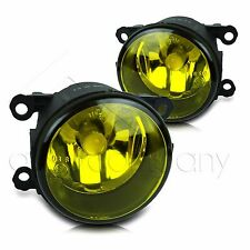 For 2005-2012 Pathfinder Replacement Fog Lamps Pair w/COB Bulbs -Yellow