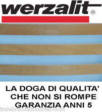 Doga doghe di ricambio marca Werzalit puro faggio singola 1 piazza 80 85 90