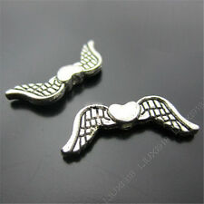 20x Retro Tibetan Silver Angel wings Spacer Beads Findings Jewellery Making N195