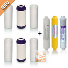 AQUASAFE 1Jahres Wasserfilter Set GAC für 7Stufige AS5000 Umkehr-Osmose-Analge
