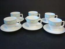 SELTMANN WEIDEN BAVARIA W. GERMANY ABSTRACT DESIGN 6 X COFFEE CUPS & SAUCERS