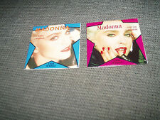 MADONNA - HOLIDAY & LUCKY STAR 3 Inch CD Single X 2  RARE 3""