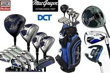 MacGregor DCT All Graphite Mens Golf  Package Set Deluxe Cart Bag New 2016
