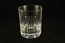 """Vtg Rare Baccarat Crystal Art Glass Rotary Cup 4-5/8"""" Tumbler 16oz Old Fashioned"""